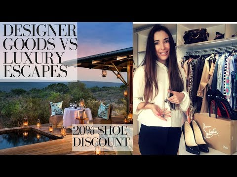 DESIGNER CLOTHES | SHOES vs LUXURY HOLIDAYS