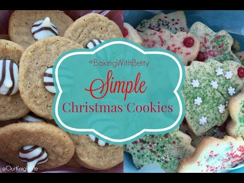 Baking Betty Crocker Christmas Cookies With My Boys!