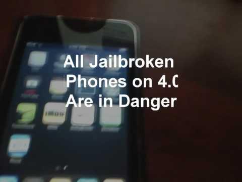 IPHONE 4 JAILBREAK IS NOT SAFE