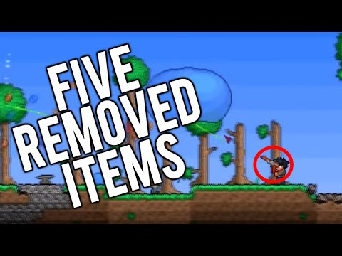 Top 5 Removed Items in Terraria