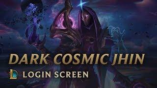 Dark Cosmic Jhin | Login Screen - League of Legends
