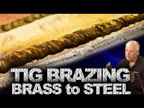 TIG Brazing Brass to Steel | TIG Time