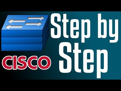Cisco Switch - How to configure ssh (Command-line interface)