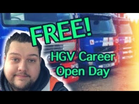 FREE HGV Career Open Day!