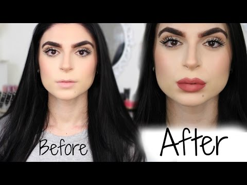 How To Make Your Lips Look BIGGER, Fuller, Plumper, in 5 minutes!