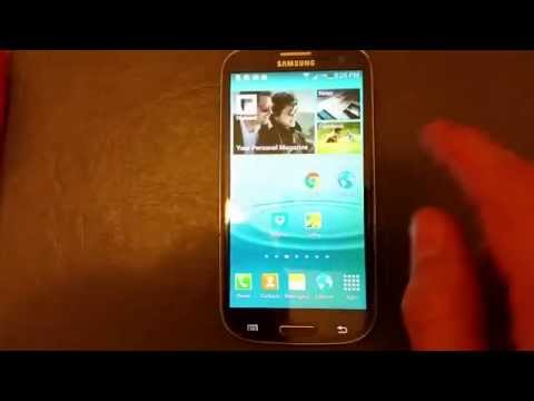 Galaxy S3: How to Clear/Delete Internet Web Browsing History: GC & IE