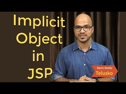Implicit Objects in JSP