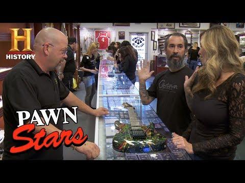 Pawn Stars: Phil Collen's Jackson Guitar | History
