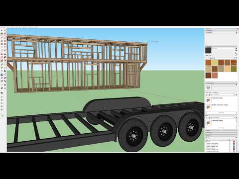 The Trailer | Part 2 of Designing a Tiny House in Sketchup