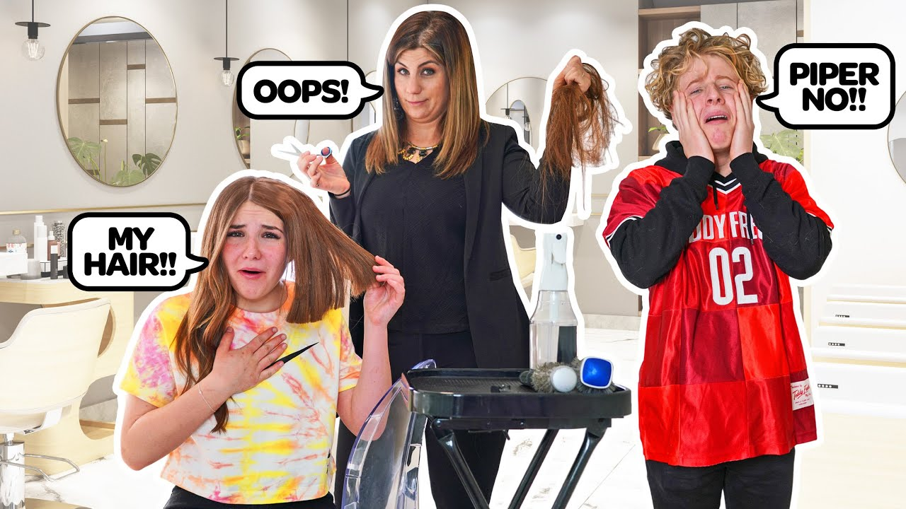 CUTTING MY HAIR To See How My Boyfriend Will React **HE GOT MAD**✂️💇♀️ | Piper Rockelle