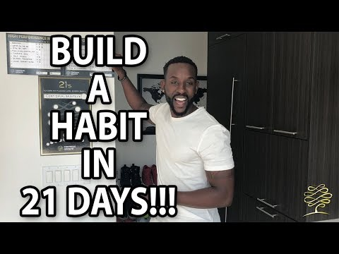 Build A Habit in 21 Days