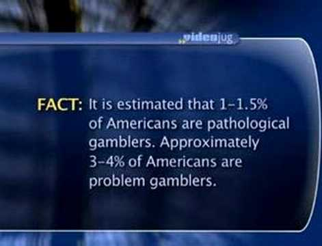 What is the difference between pathological & problem gamble