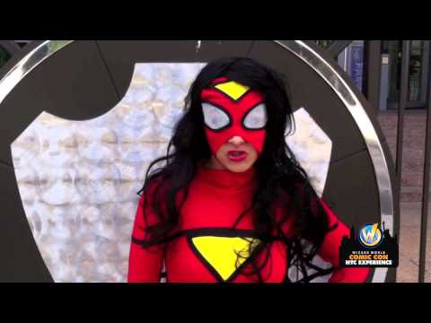 Wizard World Comic Con NYC Experience - Spider-Woman!