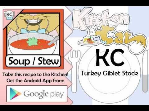 Turkey Giblet Stock - Kitchen Cat
