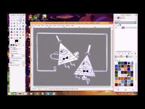 GIMP transparency tutorial