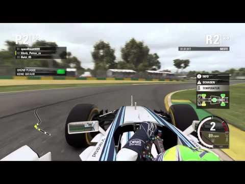 F1 2015 - NGF1-Unity: 1.Saisonrennen - Australien (Fail)