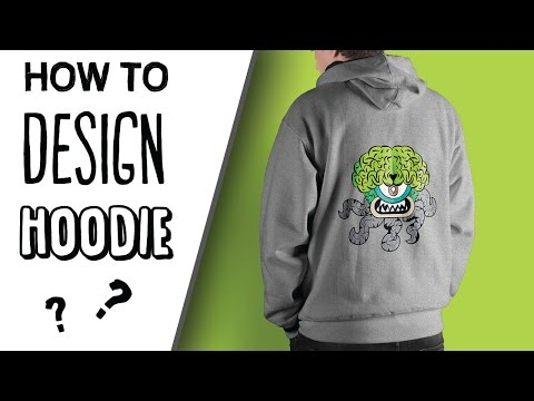 How To Design A Hoodie in  Adobe Illustrator | Tutorial | Meteor Factory