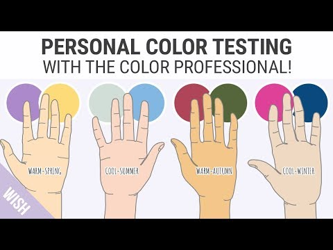 Finding Your Skin Undertones   Easy Personal Color Test with the Color Professional!