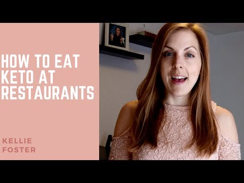 // EATING KETO AT RESTAURANTS // how to go about eating out when following the ketogenic diet