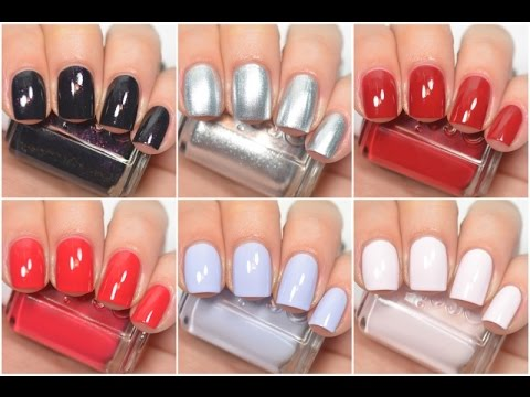 Essie Nail Polish 42 Color Swatches Essie Nail Polish Colors