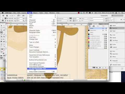 InDesign   Image boxes and text inside of shapes