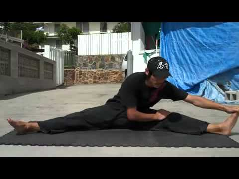 How to grow taller - leg stretching exercises resulting in height gain
