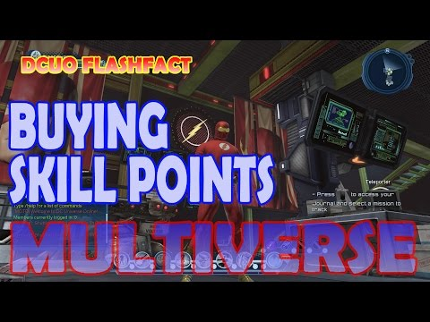 DCUO FlashFact; Buying Skill Points