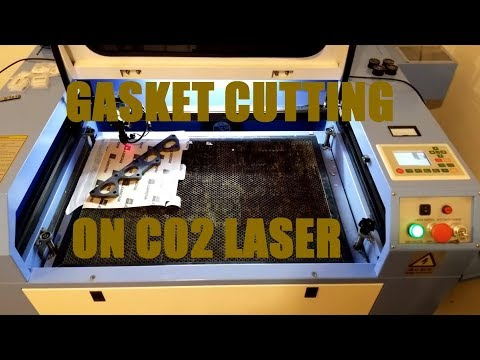 Gasket Cutting on Laser Cutter!