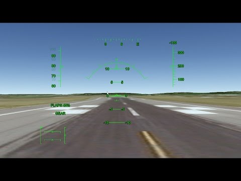 How to take off in the Google Earth Flight Simulator ( F16 Air Craft )