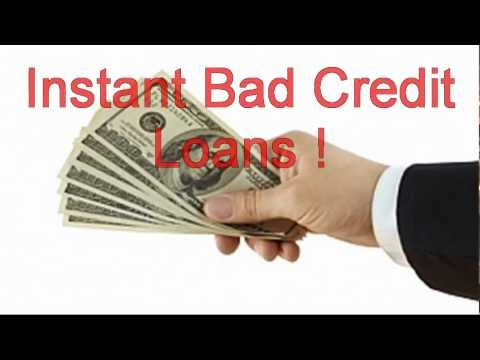 Instant Bad Credit Loans Approval Instant Bad Credit Loans, Direct Cash Advance