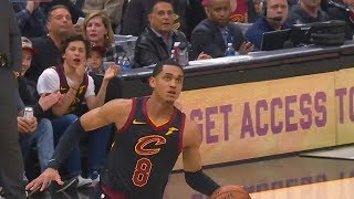 Jordan Clarkson 360 Dunk Shocks LeBron James and Cavaliers Crowd! Cavaliers vs Wizards