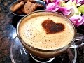 Homemade Cappuccino Recipe   Beaten Coffee Recipe in Hindi   Homemade Cappuccino Mix Without Machine