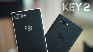 BlackBerry KEY2 Hands-On & iPhone X Camera Comparison!