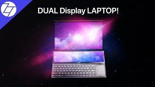 The DUAL DISPLAY Laptop - ASUS ZenBook Duo!