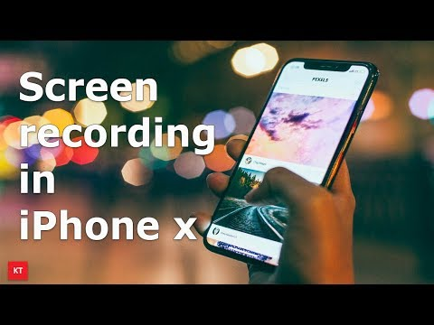 How to turn on screen recording in iPhone
