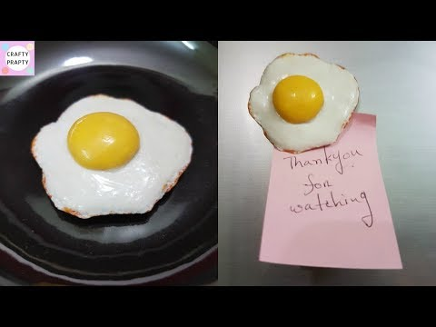 DIY Fridge Magnet / How to make Fridge Magnet / DIY Clay Egg