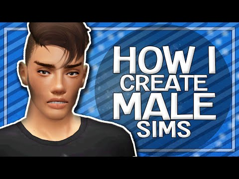 Sims 3 | Tutorial: How I Create My Male Sims