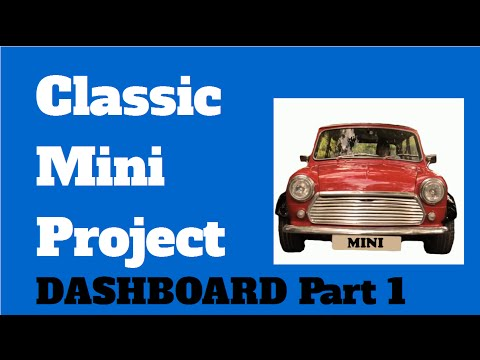 The Classic Mini Wooden Dashboard Refurbish Part 1 And The Wheel Arches