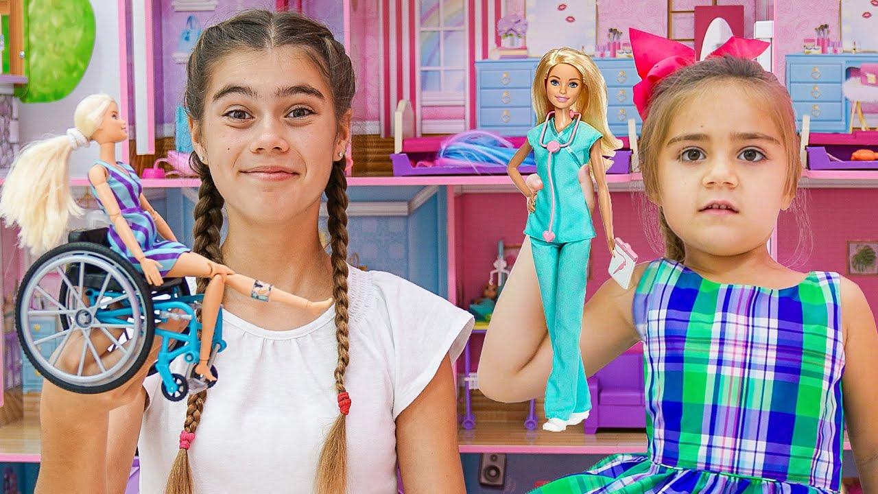 Настя и истории с новыми куклами Коллекция смешных историй для детей
