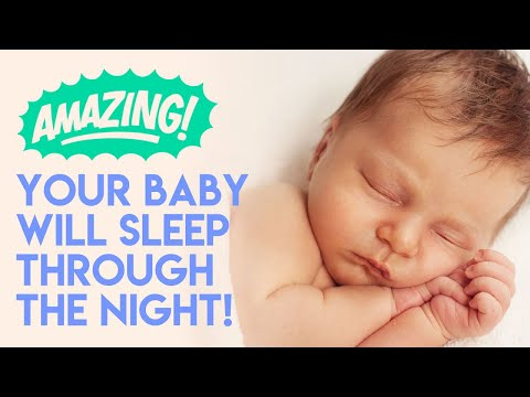 YOUR BABY WILL SLEEP THROUGH THE NIGHT AND MAGICALLY, YOU WILL TOO! Babies' Magic Tea colic