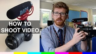 How to shoot video on a Nikon D3300
