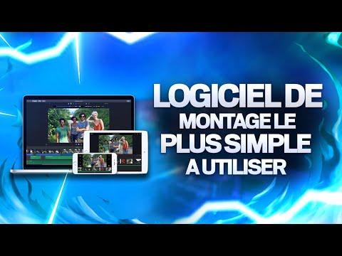 LE LOGICIEL DE MONTAGE VIDÉO LE PLUS SIMPLE À UTILISER !