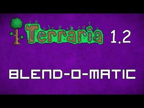 Blend-O-Matic - Terraria 1.2 Guide Asphalt Creator! - GullofDoom - Guide/Tutorial