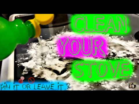 How To Remove Burns From A Glass Stove *Pin It or Leave It*