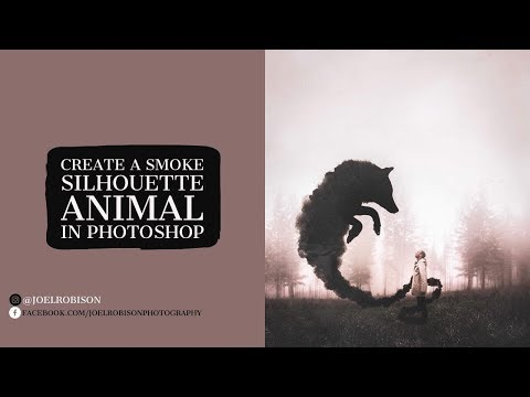 Creating A Smoke Animal in Photoshop!