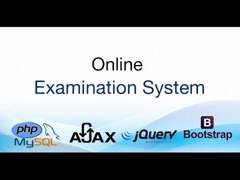 Online Examination System using PHP + MySQL