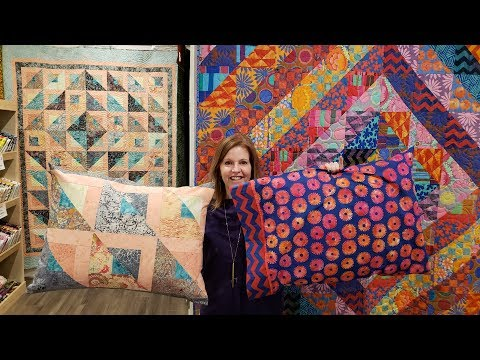 1... 2... 3 Ways to Make your Pillows Match Any Quilt!!!