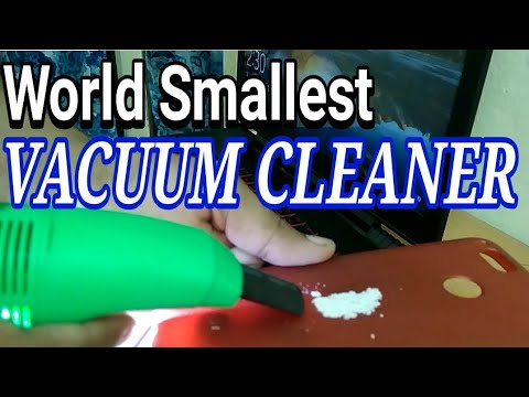 World Smallest Vacuum Cleaner | Computer Vacuum Cleaner Review | Hindi