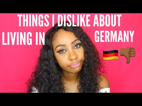 THINGS I DISLIKE ABOUT GERMANY 🇩🇪
