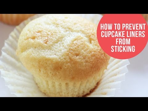 How to Prevent your Cupcake Liners from Sticking